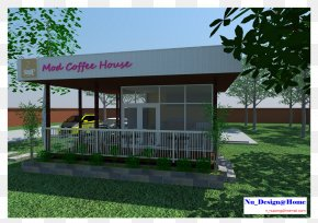 Coffee House - Roof Interior Design Services Canopy Building PNG