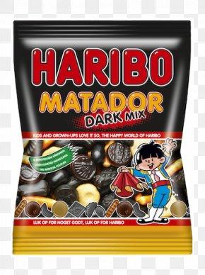 Candy - Liquorice Gummy Bear Gummi Candy Haribo Matador Mix PNG