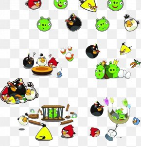 Hand-painted Cartoon Angry Bird - Angry Birds Star Wars Angry Birds Fight! PNG