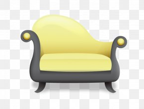 Yellow Seat Icon - Chair Seat Icon PNG