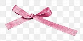 Pink Ribbon Bow - Pink Ribbon Pink Ribbon PNG