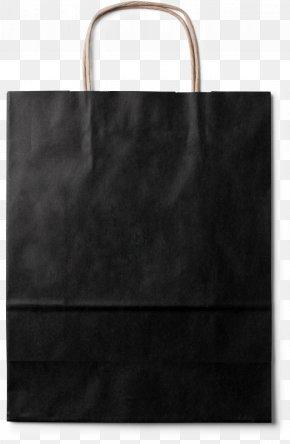 Portable Paper Bag Material - Tote Bag Black White Pattern PNG