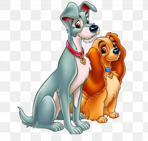 Good Friend Puppy - Lady And The Tramp The Walt Disney Company Clip Art PNG