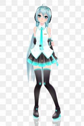 Hatsune Miku - Hatsune Miku MikuMikuDance Ponytail DeviantArt PNG