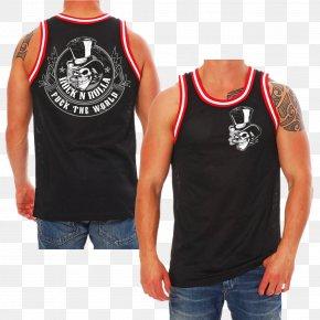 T-shirt - T-shirt Sleeveless Shirt Woman Top PNG