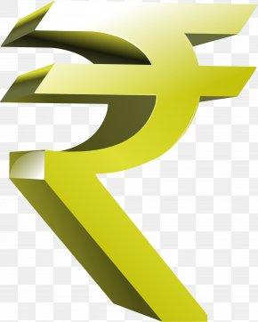 Rupee Symbol Transparent - Indian Rupee Sign Symbol Clip Art PNG