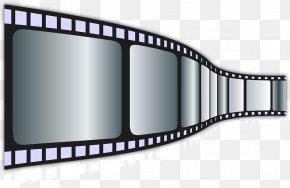 Vintage Movie Film Material - Film Video Cinema Clip Art PNG