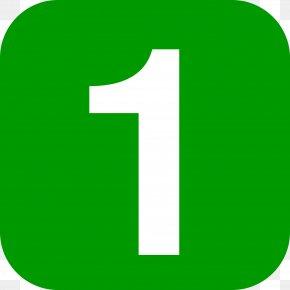 Number 1 - Number Information Computer File PNG