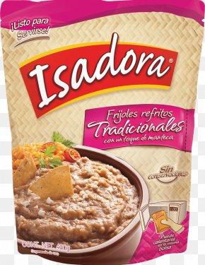 Frijol - Refried Beans Frijoles Charros Nachos Vegetarian Cuisine Oatmeal PNG