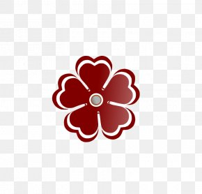 Heart Shapes Pictures - Heart Flower Love Clip Art PNG