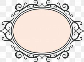 Pink Frame Vector - Picture Frame PNG