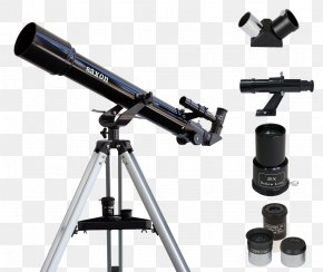 Telescope - Refracting Telescope Altazimuth Mount Astronomy Meade Instruments PNG