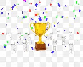 Carnival Confetti - Trophy Confetti Stock Photography Clip Art PNG