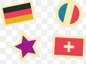 Flag Vector Element - Euclidean Vector Logo Icon PNG