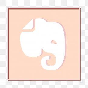 Logo Pink - Evernote Icon Logo Icon Logotype Icon PNG
