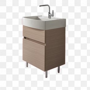 With Double Sink Cabinet - Kohler Co. Sink Bathroom Cabinetry Tap PNG