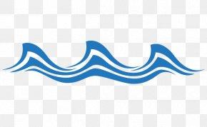 Blue Wave - Wind Wave PNG