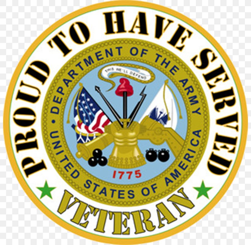 United States Army Veteran Military, PNG, 800x800px, United States, Area, Army, Badge, Brand Download Free