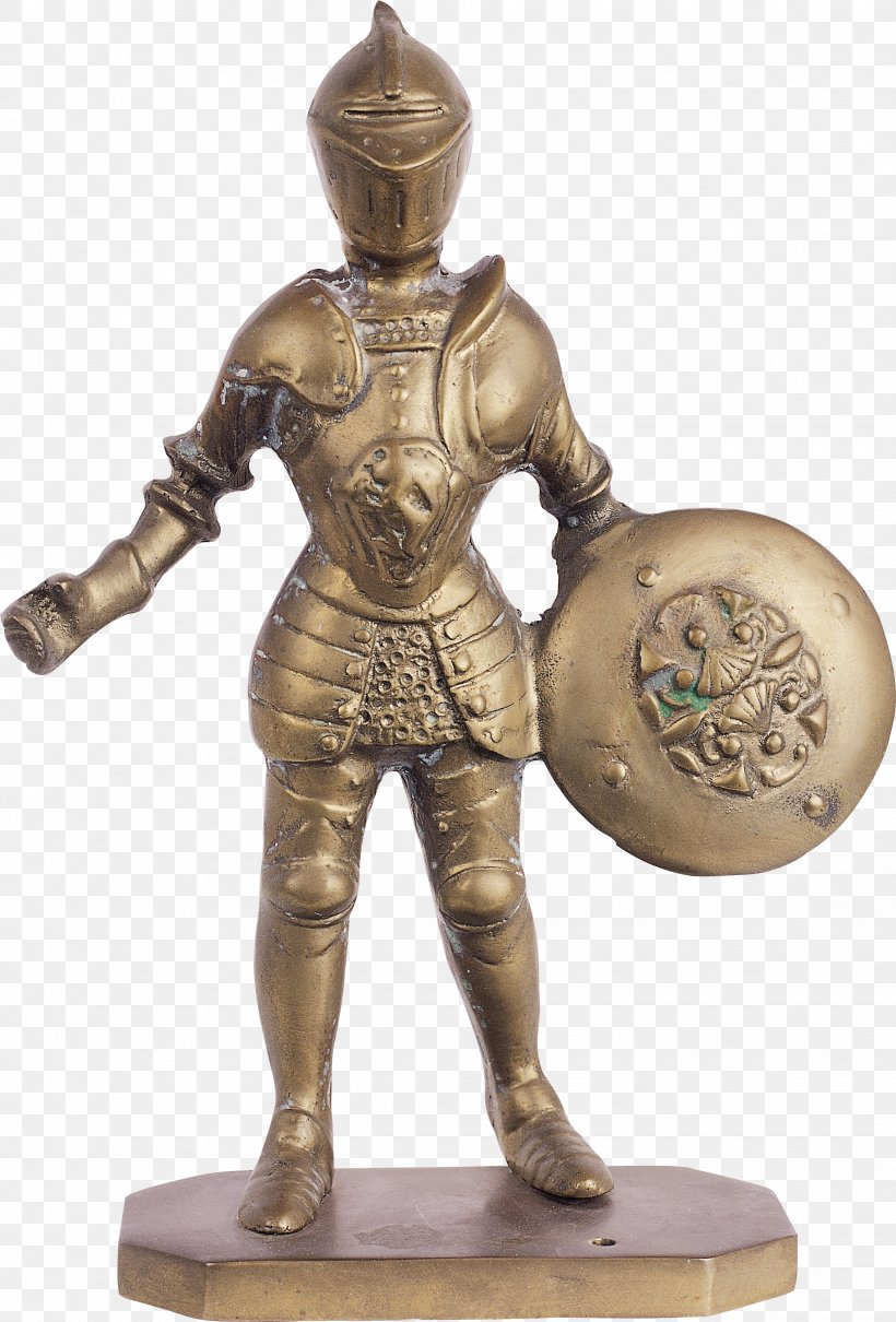 Shield Bronze Sculpture Sword Knight, PNG, 2262x3340px, Shield, Armour, Body Armor, Brass, Bronze Download Free