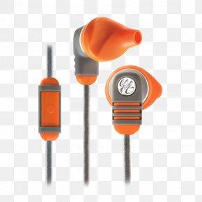 Burnt Orange/Grey Yurbuds Venture Duro Harman Yurbuds Venture TalkJbl Earphone - Yurbuds Adventure Series Venture Pro In-Ear Headphones Earphones With Microphone/Volume Control For Apple IOS Devices PNG