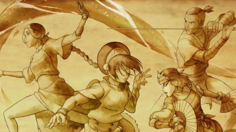 Aang Zuko Azula Toph Beifong Desktop Wallpaper Png 1920x1080px Aang Agni Kai Art Avatar Avatar The