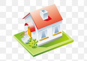 Vector Red House - Property Tax Real Estate House Mortgage Loan PNG
