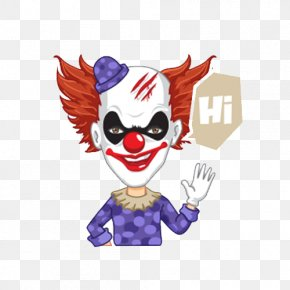 Horror Clown - Joker Clown Circus PNG