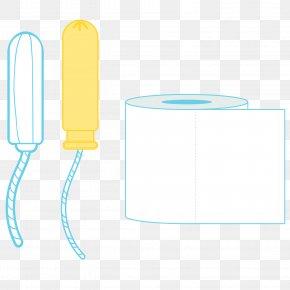 Vector Cartoon Tampons Rolls - Paper PNG