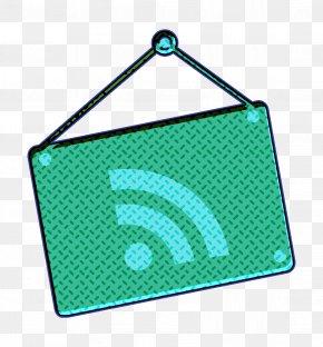 Symbol Aqua - Rss Icon PNG