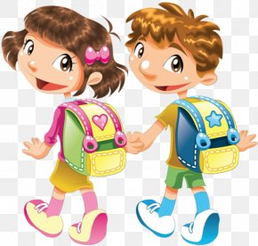 Child - Cartoon Child Drawing Clip Art PNG