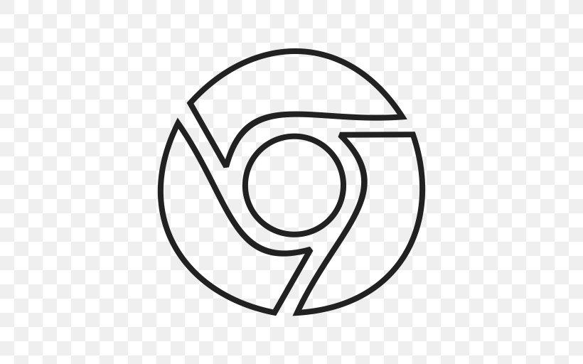 Google Chrome Web Browser Logo Png 512x512px Google Chrome Area Black Black And White Brand Download