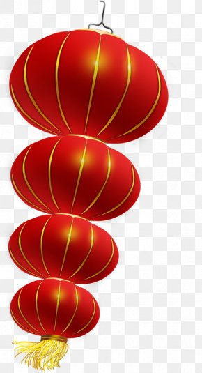 Chinese New Year Festive Lanterns - Chinese New Year Lantern Festival PNG
