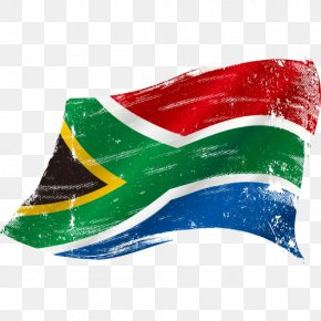 South African Flag - Flag Of South Africa Illustration PNG