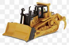 Caterpillar - Caterpillar Inc. Die-cast Toy 1:50 Scale Loader Bulldozer PNG