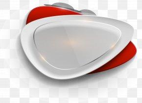 Silver Sparkle Label - Designer Clip Art PNG