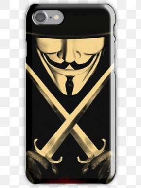 Absolute V For Vendetta - Guy Fawkes Mask V For Vendetta Anonymous IPhone 6 PNG
