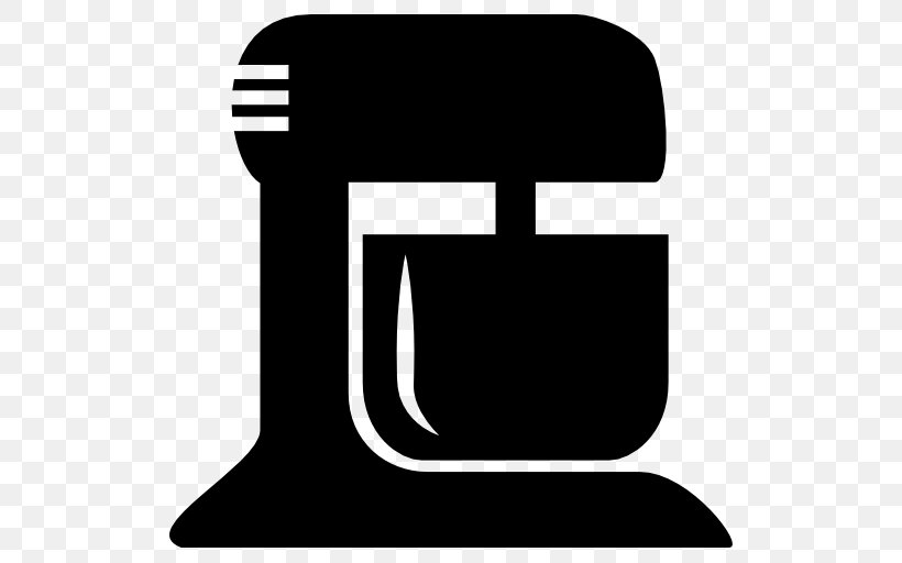 Mixer KitchenAid Blender Clip Art, PNG, 512x512px, Mixer, Black, Black And White, Blender, Immersion Blender Download Free