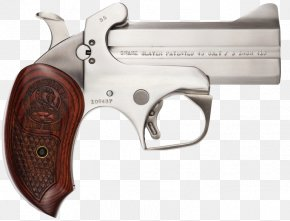 Weapon - Revolver Firearm Gun Barrel Bond Arms Derringer PNG