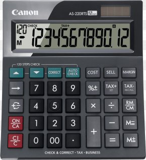 Calculator Image - Calculator Canon Calculation Display Device PNG