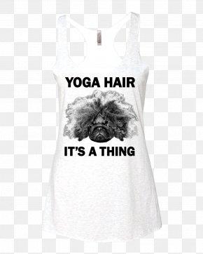 T-shirt - T-shirt Clothing Yoga Sleeveless Shirt PNG