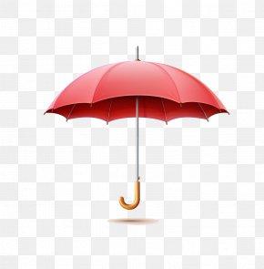Red Umbrella - Umbrella Domain-driven Design Rain Information Web Server PNG