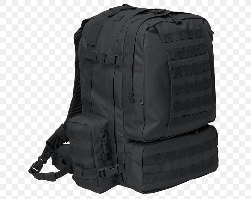 Backpack Brandit US Cooper M Condor 3 Day Assault Pack MOLLE Bag, PNG, 650x650px, Backpack, Bag, Black, Condor 3 Day Assault Pack, Condor Compact Assault Pack Download Free