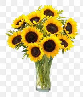 Flower - Common Sunflower Flower Bouquet Sunflower Seed Clip Art PNG