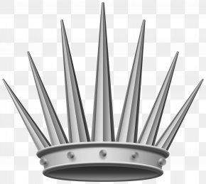 Silver Crown Transparent Clip Art Image - Crown Silver Clip Art PNG