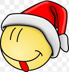 Smiley - Smiley Clip Art Christmas Emoticon Clip Art PNG