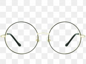 Glasses - Goggles Sunglasses Gold Ray-Ban Round Metal PNG