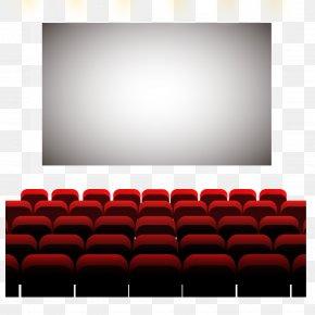 Comfortable Cinema Seat Vector Material - Cinema Seat PNG