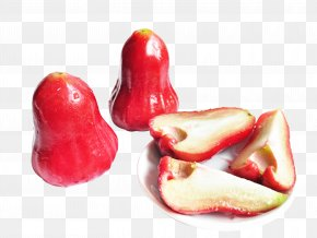Free To Pull The Red Wax - Taiwan Java Apple Piquillo Pepper Auglis Food PNG