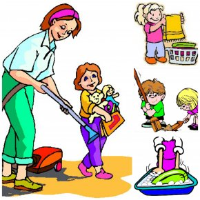 Help Cliparts Showing - Mother Child Parent Father Clip Art PNG