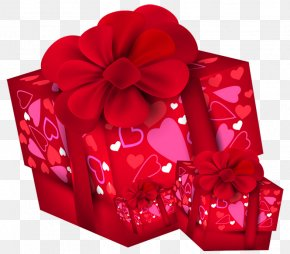 Valentines Day Gift Boxes PNG Clipart - Valentine's Day Christmas Gift Clip Art PNG